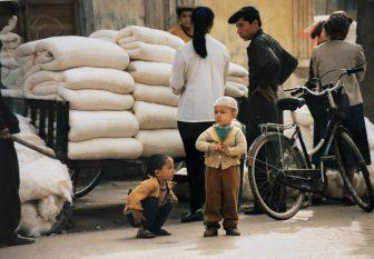 El emocionante bazar en Kashgar