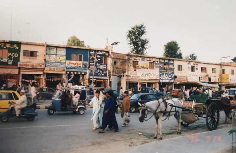 Una caótica Rawalpindi