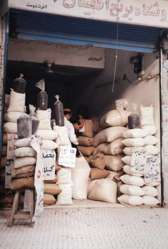 Iran-Lahijan-rice shop