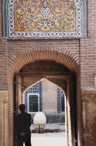 Iran-Ardabil-Sheikh-Safi-al-Din Khanegah- Shrine Ensemble-arco