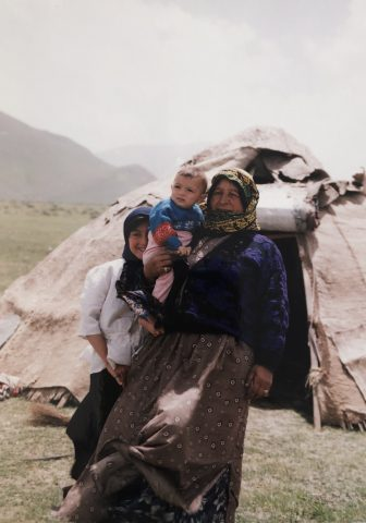 Iran-near Mount Sabalan-Shahsavan people-tent