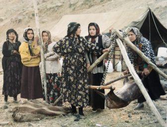 イラン ハマダーン 遊牧民 女性たち