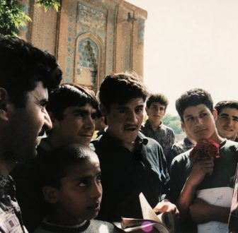 Iran-Maragheh-young men