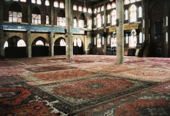 Iran-Maragheh-Friday Mosque-carpets-windows