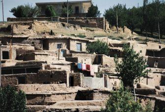 Le rovine dell'Impero Sasanian vicino a Takab
