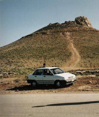 Iran-Takab-Takht e Soleyman-car-hill