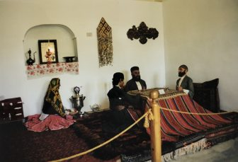 Iran-Tehran-Ethnological Museum-model-Kotatsu