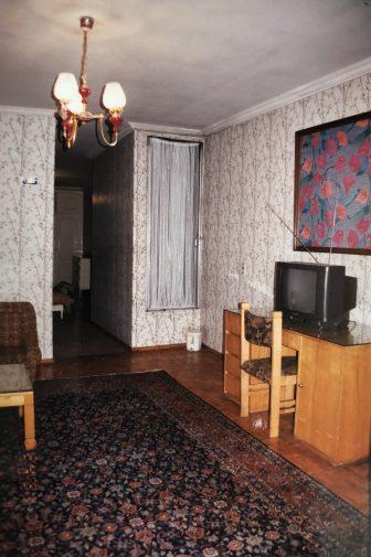 Iran-Tehran-Mashhad Hotel-room