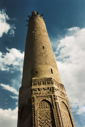 Iran-Golpayegan-minareto-Seljuk-Impero