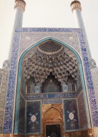 Iran-Isfahan-Imam Square-Imam Mosque-entrance