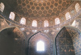 Iran-Isfahan-Imam Square-Sheikh Lotfollah Mosque-inside