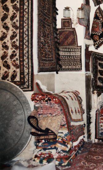 イラン イスファハン 絨毯屋
