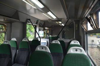 イングランド ルー 列車 車内 がら空き