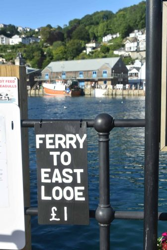 England-Cornwall-Looe-ferry-sign