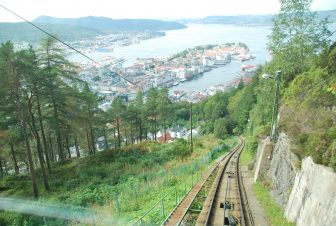 Overlooking Bergen from Mount Floyen