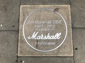 Jim Marshall, shop and plague in London Ealing