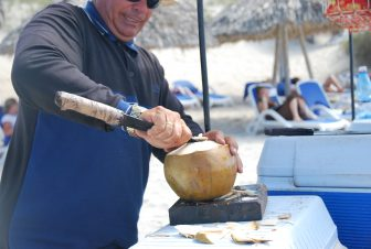 venditore di cocco