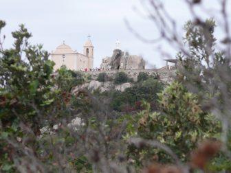 Notre Dame de la Serra sulla collina in Corsica