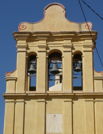 La chiesa di Cateri in La Balagne