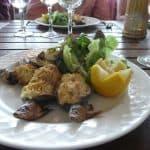 レストラン「マタ・ハリ」での食事
