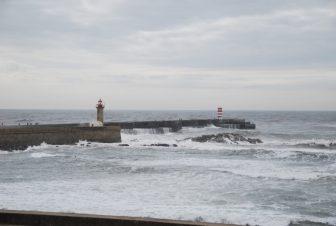 the waves in the Atlantic Ocean