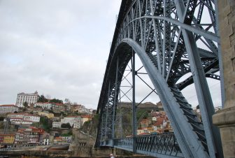 Dom Luis I Bridge and the view of the opposite side