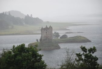 Castillo-Stalker-Escocia-gira-Highlands