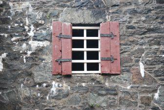 Una finestra del Castello Eilean Donan