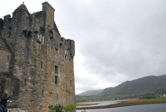 La baia del Castello di Eilean Doanan