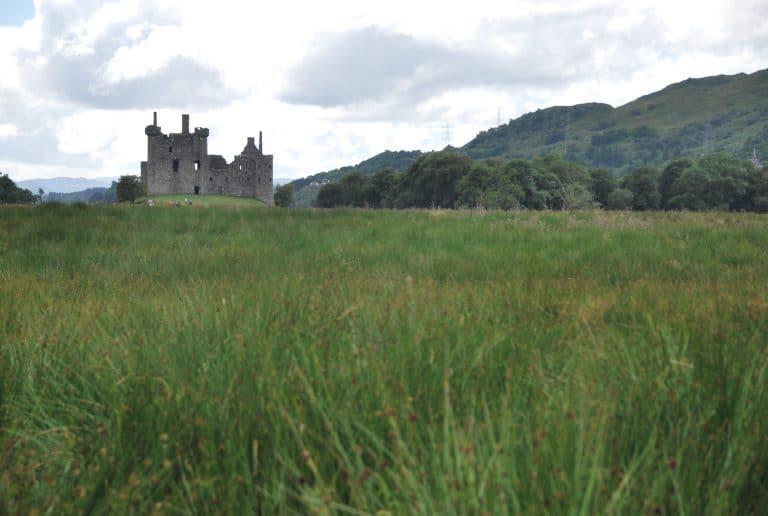 El increíble Castillo de Kilchurn