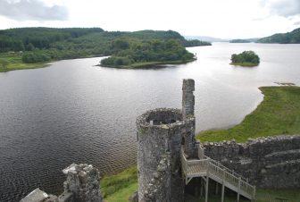 Il panorama dal Castello di Kilchurn