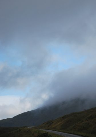 the weather changing for the better on Isle of Mull