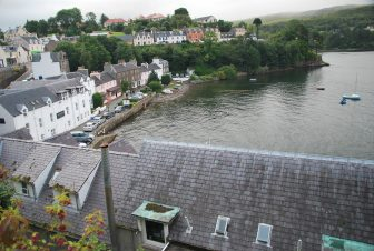 Portree from a hill
