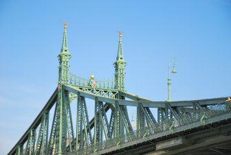 Liberty Bridge over Danube
