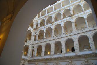 La parte moderna New York Palace a Budapest