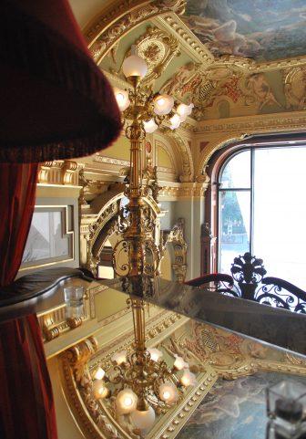 Lo storico New York Palace Hotel a Budapest