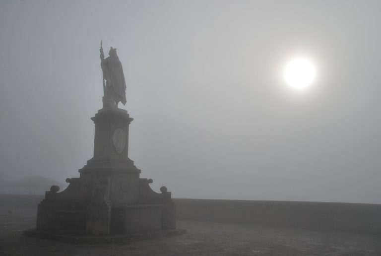 The mysterious atmosphere of San Marino