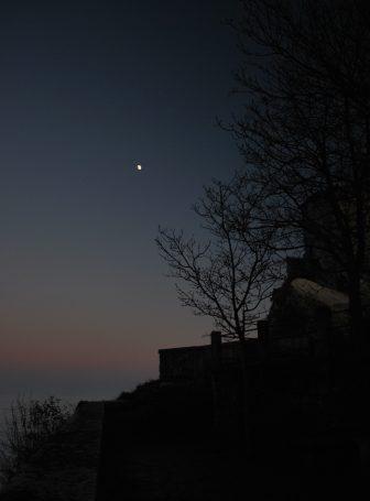 the moon in San Marino