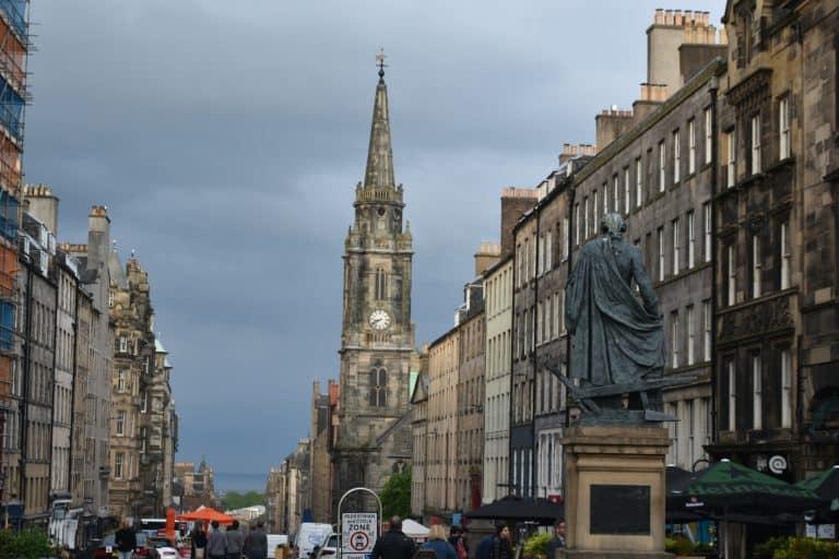 Scozia Edimburgo la capitale