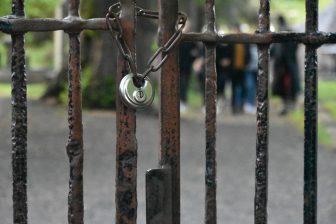 墓場ツアーで入ったカヴェナンターの牢獄