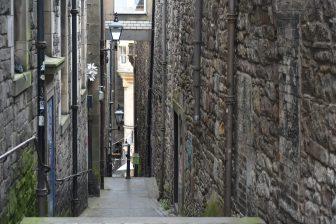Anchor Close nella parte vecchia di Edimburgo