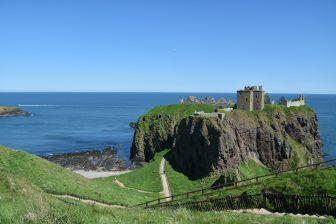 castillo-Dunnottair-vistas-Stonehaven-Escocia