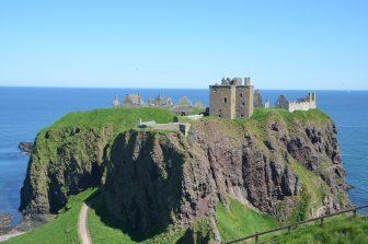 Il magnifico panorama del Castello di Dunnottar
