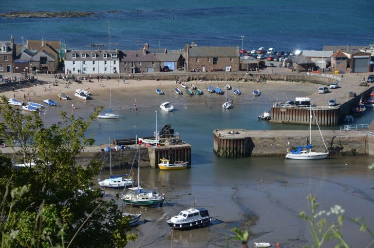 The town of Stonehaven and the unfortunate journey back