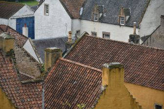 I tetti delle case di Culross