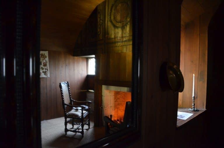 Il Palazzo di Culross, valeva la pena di vedere gli interni