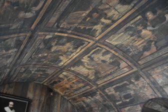 Il soffitto dipinto del palazzo di Culross