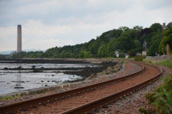 La linea ferroviaria di Culross