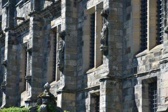 フォークランド宮殿のディテール