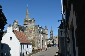 Falkland Palace, the holiday villa for kings and queens